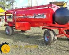 Acoplado Cisterna Metalpaz Combinado De 4000 Lts.