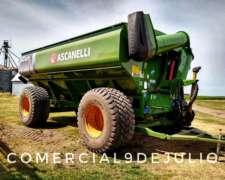 Tolva Autodescargable Ascanelli Magnum 33tn - 4 Ruedas