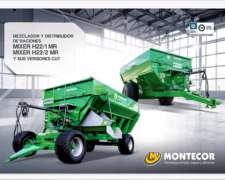 Mixers H22/1 MR- H22/2 MR Montecor