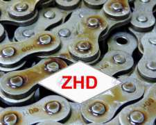 Cadena a Rodillo ZHD de Acero Inoxidable Todas Medidas