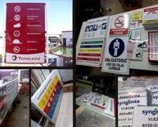 Impresión, Carteles, Señalética, Calcos Agrícolas, Corporeas