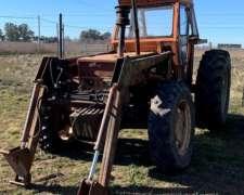 Tractor Fiat 980 con Pala y Valtra BH 160
