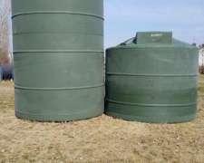 Tanque Plástico Vertical 15000 Lts - Agua - GAS OIL