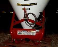 Fertilizadora Grass Cutter MB 500 3 Puntos - Esparcidora