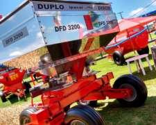 Fertilizadora de Arrastre Ipacol Dfd-3200, Doble Disco