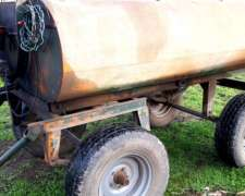 Acoplado Tanque 2000 con Bomba 12v