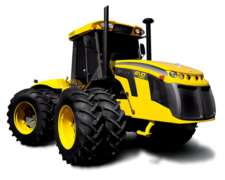 Tractor Pauny EVO Articulado 500/ 540/ 580 - Vende Forjagro