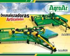 Desmalezadoras de Arrastre DAV3500 DA 4392. Agroar Nuevas