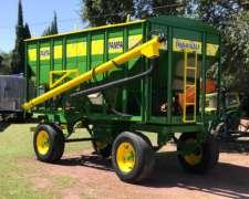Acoplado Tolva Semilla y Fertilizante de 14 TON Marca Pampa