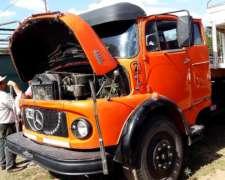 Camion Mercedes Benz 1114 año 70.itv RE. con Cabina Dormito