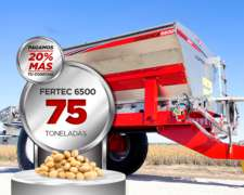 Abonadora Estercolera Fertec 6500 Serie 5 Inox