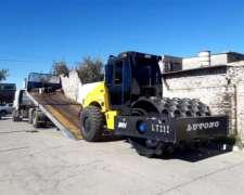 Compactador Pata De Cabra Jmv Lt220. 12 Ton. Cummins 220 Hp