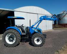 New Holland TD 5.90 con Pala Frontal