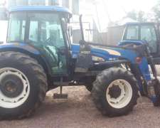Tractor New Holland Td595d con Pala Frontal