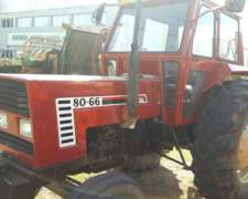 Tractor Fiat Agri 80 66 Reacondicionado, Unica Mano
