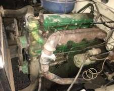 John Deere Motor 4 Cilindros 2420 Funcionando con Papeles