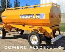 Acoplados Cisternas Acepla de 1500/8000 Lts