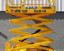 Plataforma Elevadora Tijera 10m Haulotte