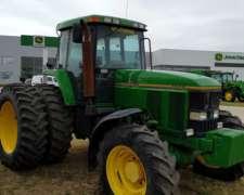 Tractor John Deere 7800, 200hp, CABINADO,1998