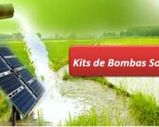 Kit De Bombeo Solar 10.500 Lts./día A 90 Mts.