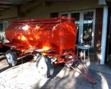 Vendo Acoplado Cisterna de 3500 Lts