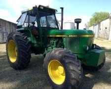 Tractor John Deere 3540. TF Independiente