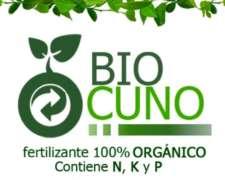 Biocuno, Fertilizante 100% Orgánico. 20l.