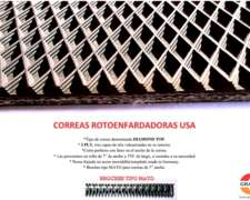 Correas Rotoenfardadoras - USA