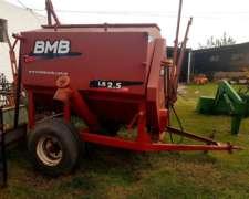 Carro Mixer Mezclador BMB Racionador 2.5tt