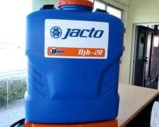 Pulverizador A Bateria Tipo Mochila Marca Jacto Djb
