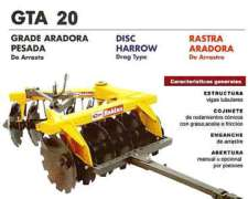 Rastra Aradora Pesada P/ Desmonte - Baldan