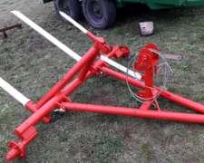 Pinche Transportador De Un Rollo Con Malacate Y Hidraulico