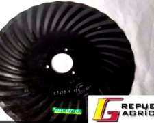 Cuchillas Turbo / Disco de Sembradoras 16 X 4 MM. 32 Ondas