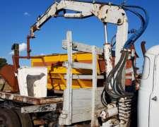 Grua Hidráulica Munk Aprox 1500 Kgs. Colocada en Camion