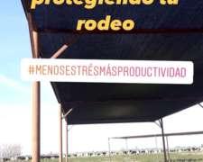 Media Sombra para Tambo Chilena 90% y 95%