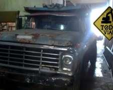 Camion Ford 7000 Volcadora 7mt Contado y Cheques Todo Vial