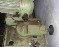 Maquina Cortadora De Caños Con Morza Y Lubricador
