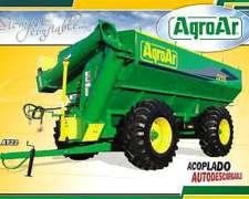 Acoplado Tolva Autodescargable Agroar AT 22