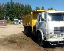 Vendo Caja Volcadora para Camión Balancín