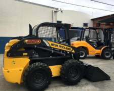 Minicargadora New Holland L220. año 2018. Made IN U.s.a