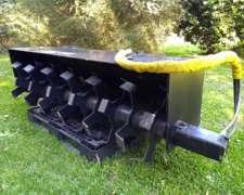 Rotovator Hidraulico para Minicargadora