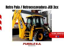 Retropala / Retroexcavadora JCB 3cx + Plan Cheque