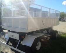 Carro Volcador Hidráulico CMV 6000