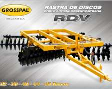 Rastra Disco Doble Acción Desencontrada RDV 44000 - Grosspal