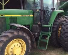 Tractor John Deere 7810, año 2000