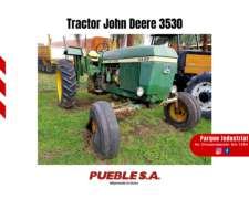 Tractor John Deere 3530 Traccion Simple - Plan Cheque