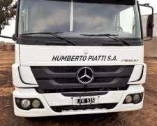 Camión Mercedes Benz Atego 1725
