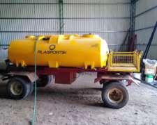 Tanque Apoyo de Agua Plasforte 3750 Litros