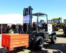 Autoelevador Todo Terreno Hanomag E248tt