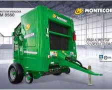 Rotoenfardadora Montecor Modelo M8560